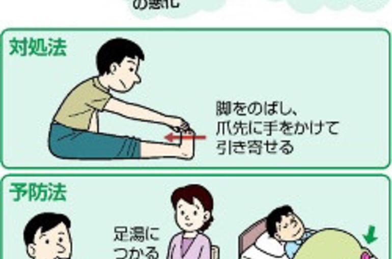 た 足 が の 対応 時 つっ